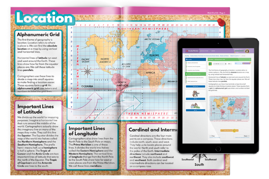 Print and Online Curriculum