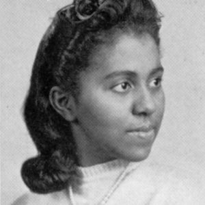 Marie Daly, the first Black woman to earn a Ph.D. in chemistry.