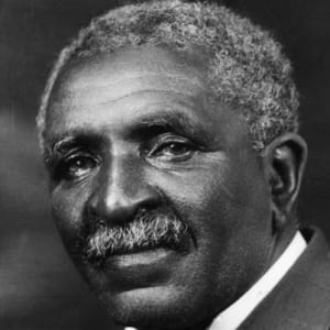 George Washington Carver, first African American to earn a Bachelor of Science degree.